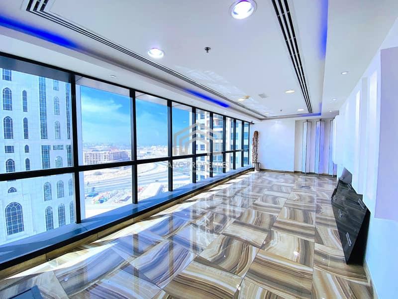 *** LIMITED  OFFER 750/SQ.FT!!! *** GLASS PARTITIONED OFFICE | HIGH FLOOR