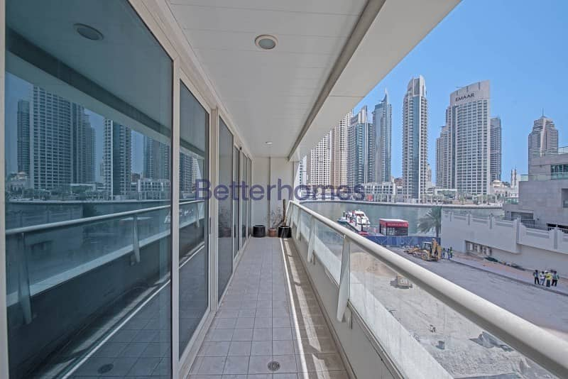 2 MARINA VIEWS - HUGE - 3 bedroom - Vacant