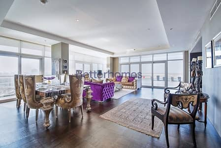 4 Bedroom Flat for Rent in Al Raha Beach, Abu Dhabi - Stunning view of the sea ready to move-in