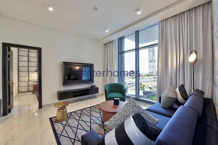 1 Bedroom Hotel Apartment for Rent in Business Bay, Dubai - All Inclusive| No Security Depo| 6 Chqs