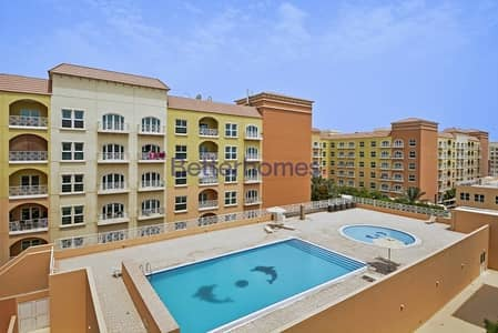 2 Bedroom Apartment for Sale in Dubai Investment Park (DIP), Dubai - Lovely Pool View | Maid's Room |Mid Floor