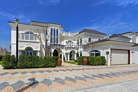 6 Bedroom Villa for Sale in Palm Jumeirah, Dubai - Tip Villa | Bespoke | Furnished