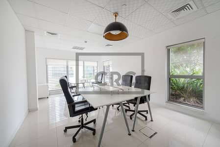 Office for Rent in Business Bay, Dubai - Fully Fitted Office | Partitions | Close to Metro