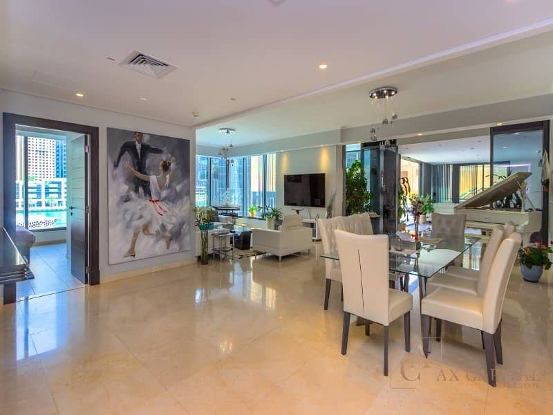 2 Stunning View |  Unique Penthouse | Marina walk