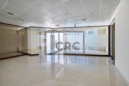 مکتب  للايجار في مركز دبي المالي العالمي، دبي - Partitioned | Emirates Financial Tower| Low Price