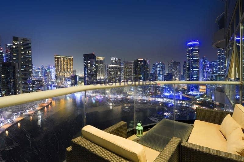 High Floor   Full Marina View   Furnished