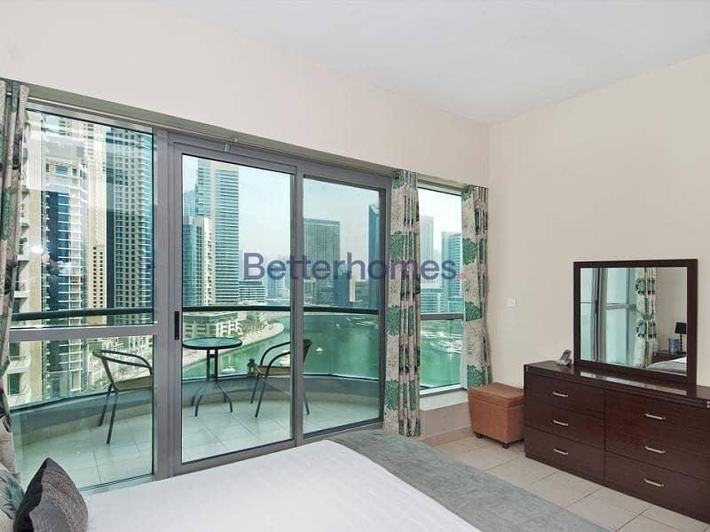 2 High Floor   Full Marina View   Furnished