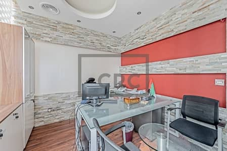 Office for Sale in Business Bay, Dubai - Fitted | Fully Furnished | Near to Metro