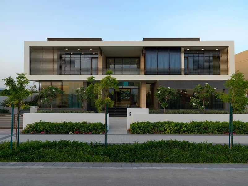 Fully Upgraded And Furnished 7 BR Mansion with Outstanding Amenities Facing The Lagoon