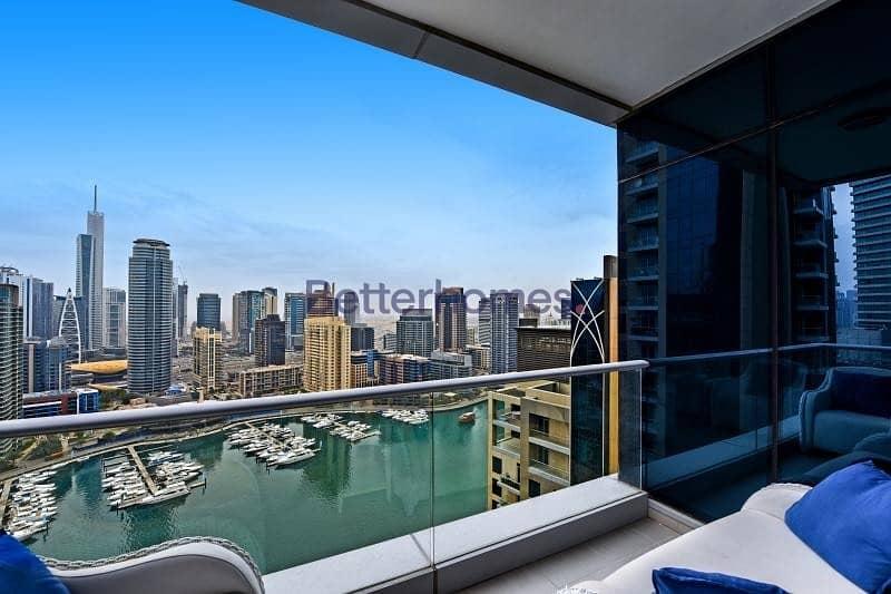 Full Marina View | High Floor | Furnished