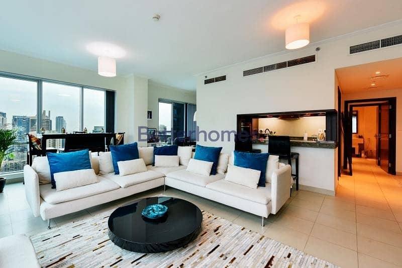 2 Full Marina View | High Floor | Furnished