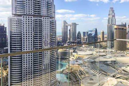 2 Bedroom Flat for Sale in Downtown Dubai, Dubai - HIGH FLOOR|BURJ KHALIFA & FOUNTAIN VIEWS