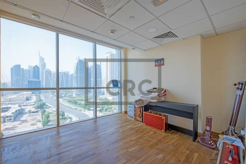 Commercial Half Floor Tenanted Fully Fitted Metro Lake View