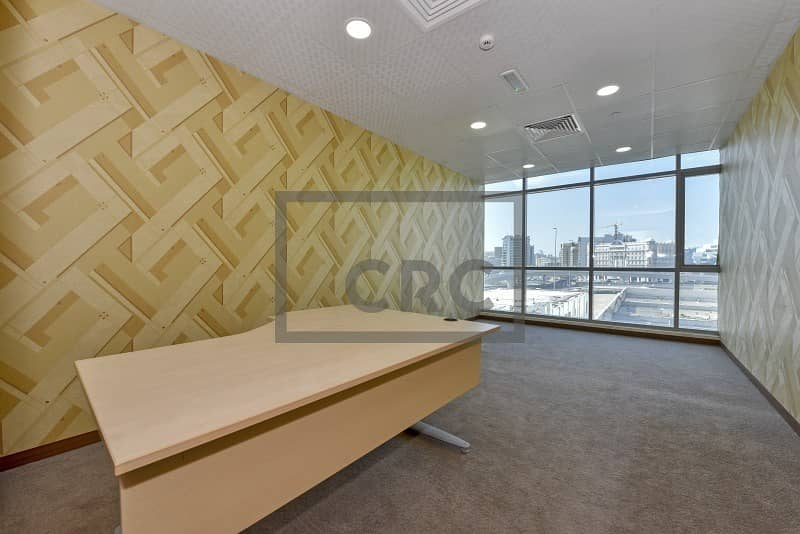 10 Offices in a Business Centre | With Ejari | Low Rent