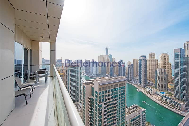 Immaculate | Vacant | Upgraded | Full Marina View | Balcony