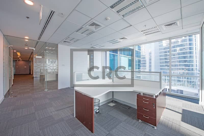2 Fitted Office| 4 Parking Spaces|Partition