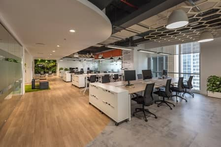 Office for Rent in Dubai Marina, Dubai - Modern fit-out| Full marina view |Corner office