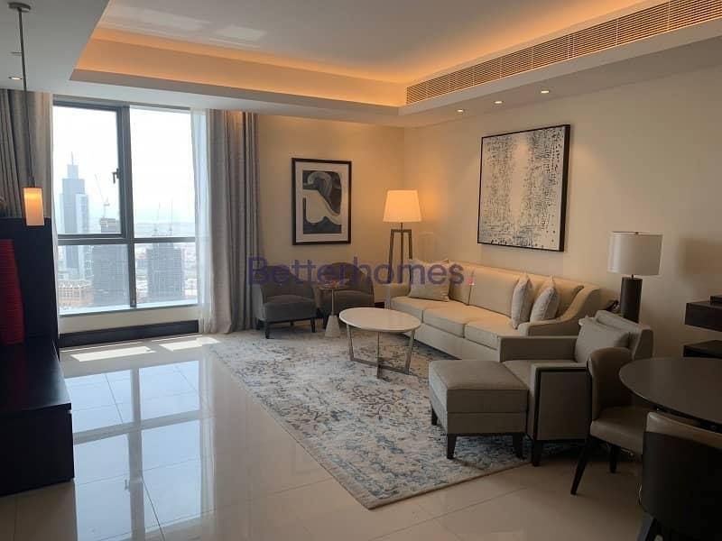 2 Address Downtown|1Bed|Burj Khalifa view|