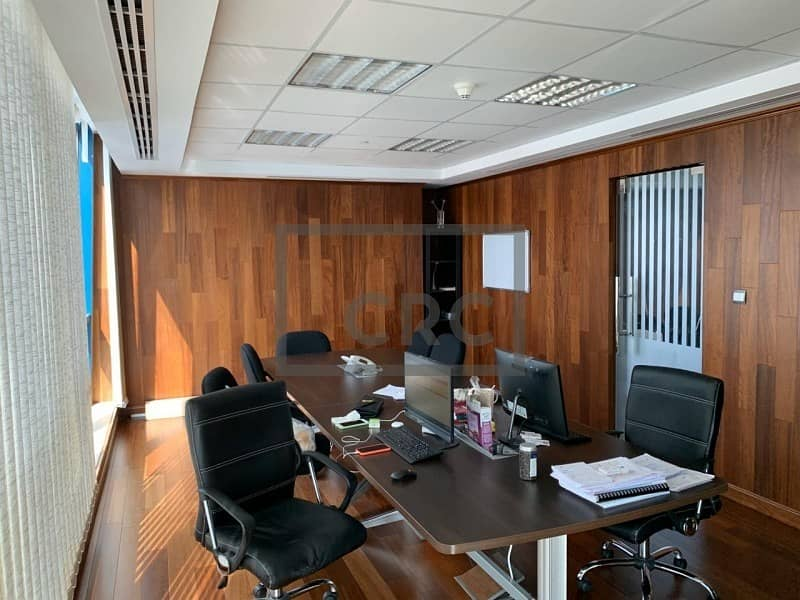2 Fully Fitted | Partitioned Office | High Floor