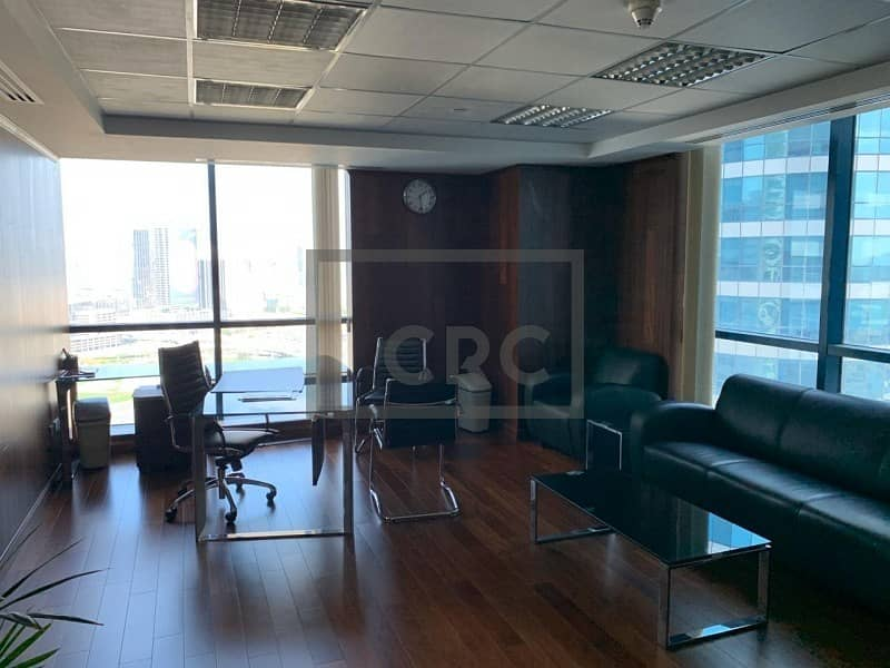 8 Fully Fitted | Partitioned Office | High Floor