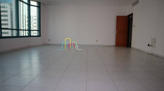 3 Bedroom Flat for Rent in Al Khalidiyah, Abu Dhabi - No Commission I 6 Cheques I 3 BR with Maid's room