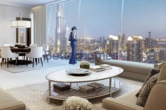 2 Exclusive | One Bed | Opera & Burj  View