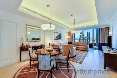 1 Bedroom Hotel Apartment for Rent in Downtown Dubai, Dubai - All inclusive|Hotel Apartment|Big layout