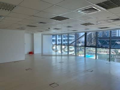 مکتب  للبيع في أبراج بحيرات الجميرا، دبي - Office for sale in Indigo Tower | Open Plan Layout