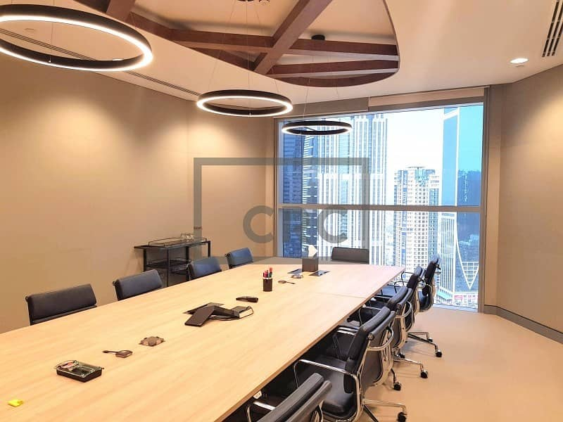 Fitted | High End - Furnished | Office | DIFC