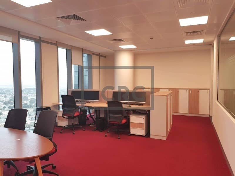 2 Fitted | High End - Furnished | Office | DIFC