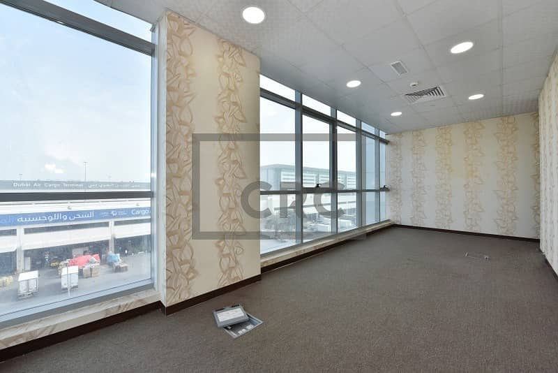 2 Offices in a Business Centre | With Ejari | Low Rent