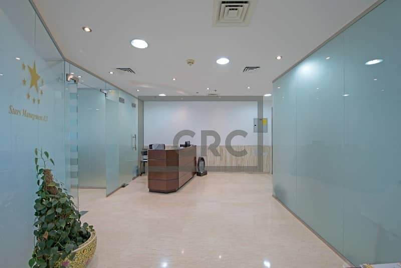 11 Fully Furnished|Glass Partitions |Negotiable Front of Metro