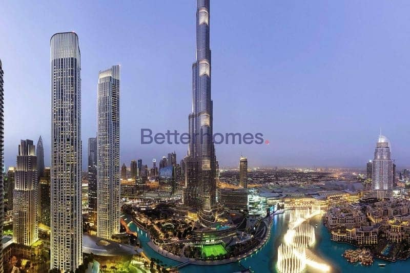 2 Off Plan | 4 Bedroom | Downtown Dubai