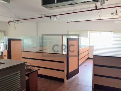 Office for Rent in Barsha Heights (Tecom), Dubai - Fully Fitted Office | Partitions | Chiller Free