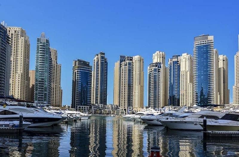 16 Marina & Sea View | 1 Cheque | Chiller Free