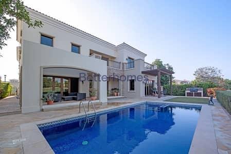 5 Bedroom Villa for Sale in Jumeirah Golf Estate, Dubai - Golf & Lake View    Cul De Sac   Murcia Style
