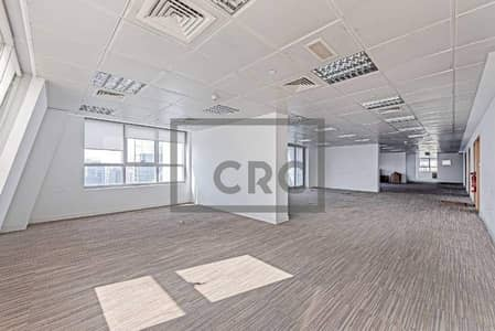 Floor for Sale in Jumeirah Lake Towers (JLT), Dubai - Full Floor|Metro Access|Partitioned|Fitted