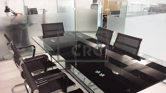 Office for Sale in Jumeirah Lake Towers (JLT), Dubai - Lovely Office | Partitioned | Furnished | Close to Metro