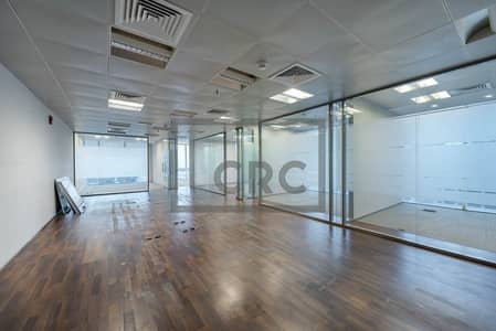 Office for Rent in Business Bay, Dubai - Fully Fitted with 6 Partitions Near Metro Stn