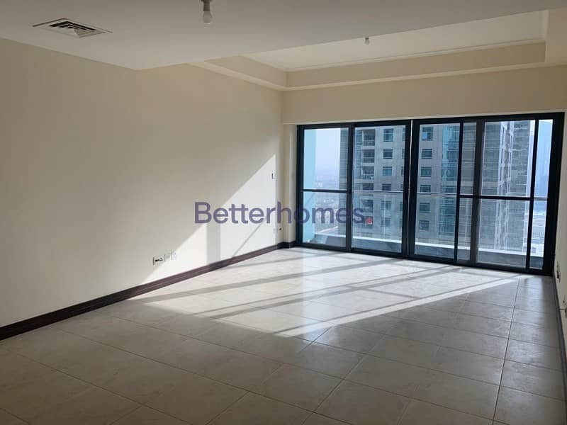 2 Vacant|High Floor| Lake View|Maids Room