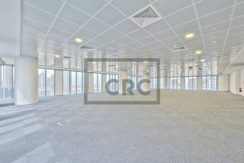 Fitted office space in Central Park Tower at DIFC