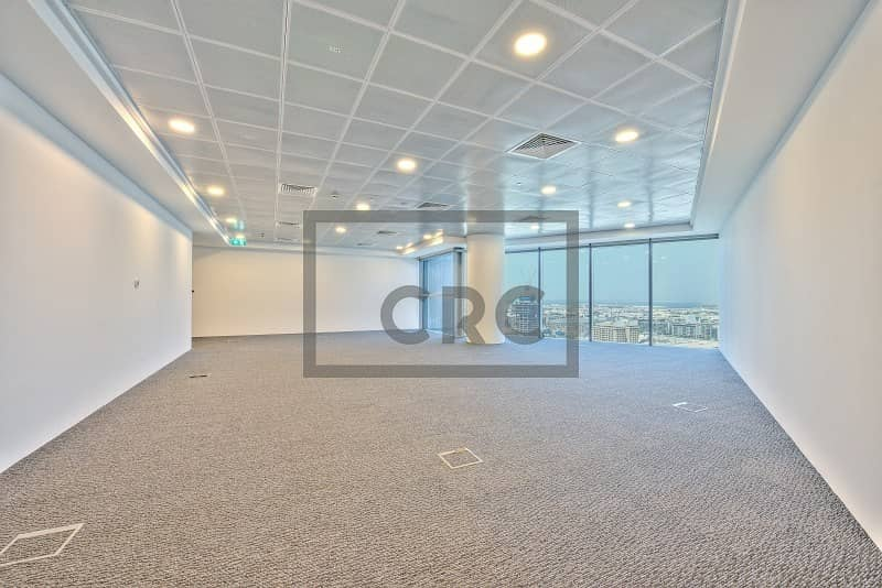 2 Fitted office space in Central Park Tower at DIFC