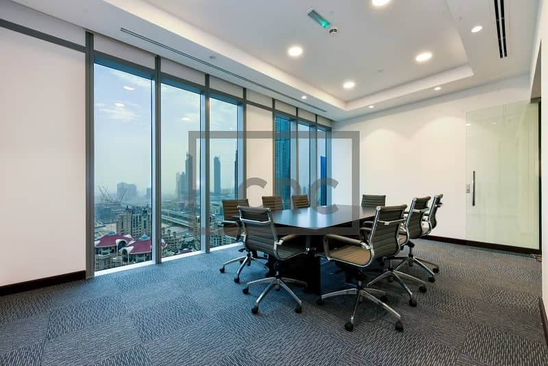 12 Fitted & Furnished I DIFC I For Rent
