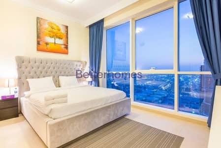 شقة 2 غرفة نوم للبيع في جميرا بيتش ريزيدنس، دبي - Sea View| High Floor|Unfurnished| ShortTerm Rental