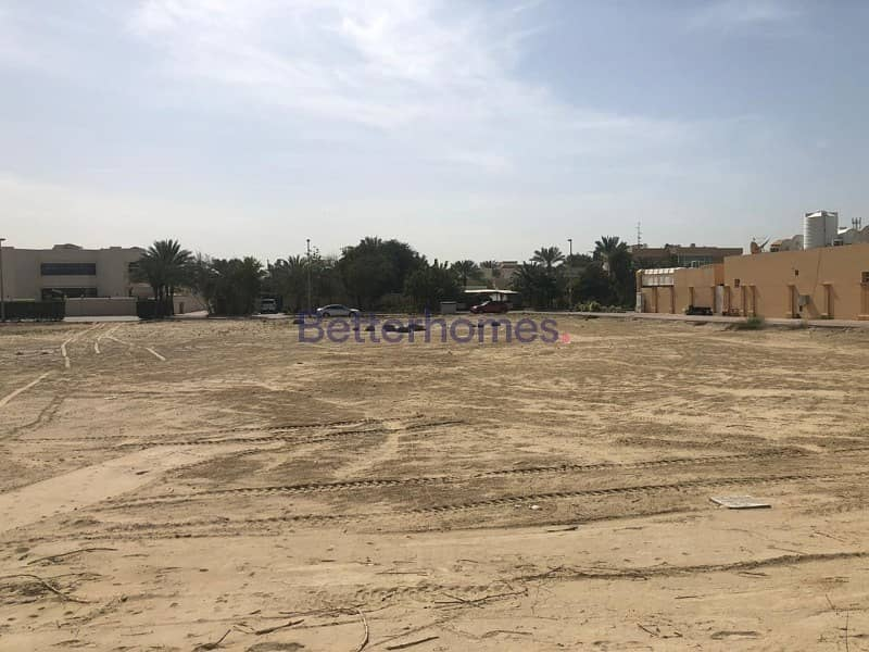 Rare vacant  plot in the heart of Al Wasl