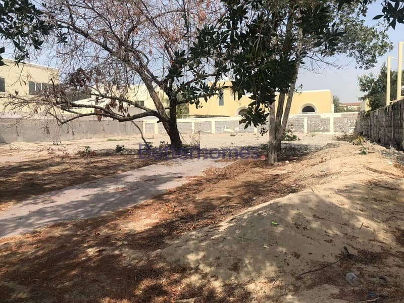2 Rare vacant  plot in the heart of Al Wasl