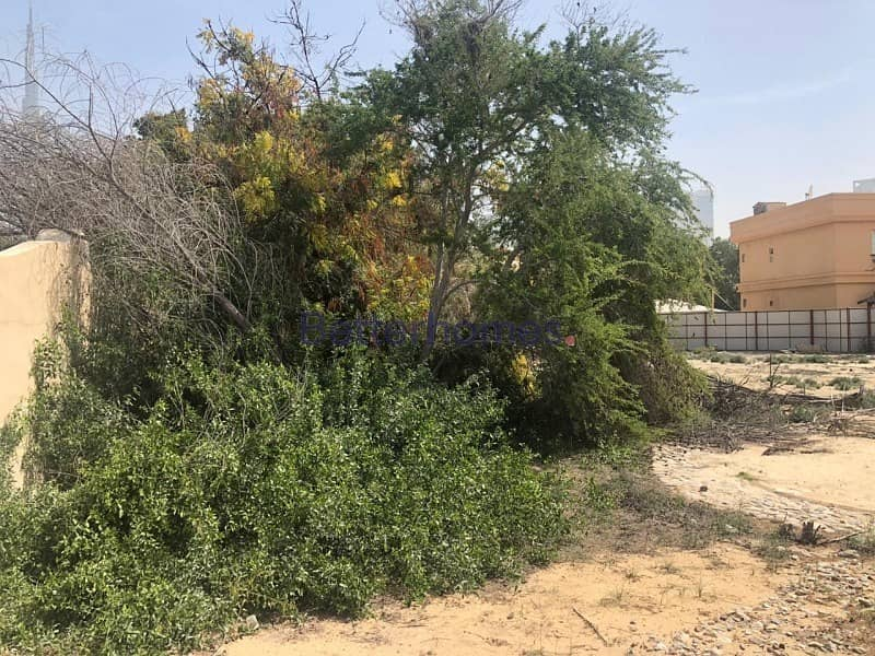 8 Rare vacant  plot in the heart of Al Wasl