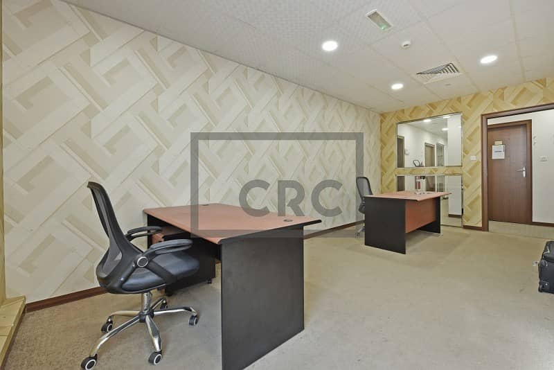 Offices in a Business Centre | With Ejari | Fitted