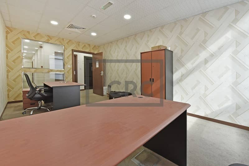 2 Offices in a Business Centre | With Ejari | Fitted