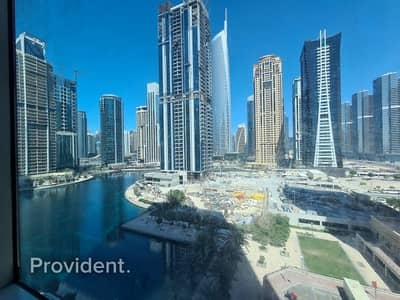 Office for Rent in Jumeirah Lake Towers (JLT), Dubai - Semi Fitted - Brand New Tower - Lake View